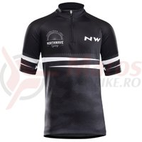 Tricou ciclism Northwave Origin Junior negru