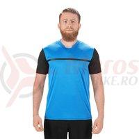 Tricou ciclism Square Sport S/S albastru/negru