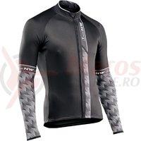 Tricou cu maneca lunga Northwave Extreme 3 negru/gri