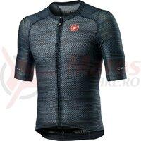 Tricou cu maneca scurta Castelli Climbers 3.0 Dark Steel Blue