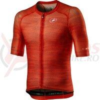 Tricou cu maneca scurta Castelli Climbers 3.0 Fiery Red