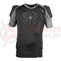 Tricou cu protectii TSG Tahoe Pro A S/S - Black
