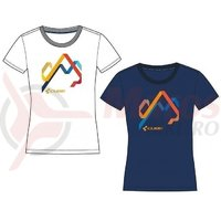 Tricou Cube after race WLS T-Shirt Hills alb