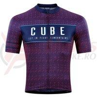 Tricou Cube Blackline Jersey 2020 S/S Blue Pink