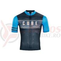 Tricou Cube Blackline Jersey Cross grey blue