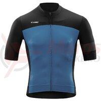 Tricou CUBE Blackline jersey  S/S Black Smoke Blue