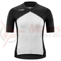 Tricou CUBE Blackline WS Jersey S/S Black/White