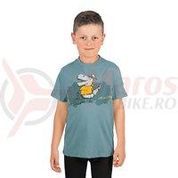 Tricou Cube Junior T-Shirt Dino dark mint