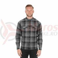 Tricou Cube Work Shirt L/S grey check