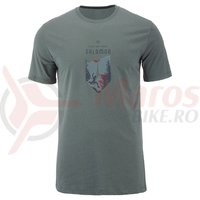 Tricou drumetie Salomon X Alp Graphic SS Tee urban chic barbati