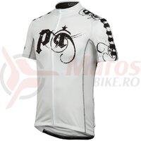 Tricou elite LTD barbati Pearl Izumi ride metal white