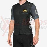 Tricou Exceeda Jersey Black/Charcoal Lycra Kits