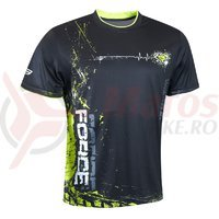 Tricou Force Art negru/fluo