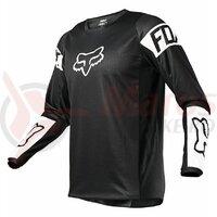 Tricou Fox 180 REVN JERSEY - Black/White