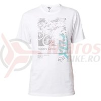 Tricou Fox Black Cherry SS Tee opt white