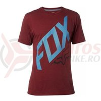 Tricou Fox Closed Circuit SS Tech Tee heather red