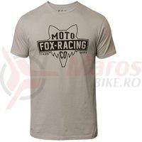 Tricou Fox Flat Head SS Premium Tee stl grey