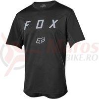 Tricou Fox Flexair SS Moth jersey black