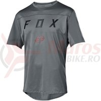Tricou Fox Flexair SS Moth jersey grey vin