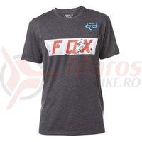 Tricou Fox Ghostburn SS Tee heather black