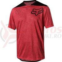 Tricou Fox Indicator SS Asym jersey brt red