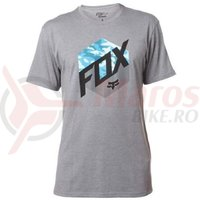 Tricou Fox Kasted SS Tee Heather graphite