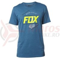 Tricou Fox Looped Out SS Tee heather blue