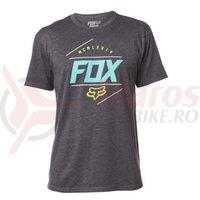 Tricou Fox Looped Out SS Tee Heather heather black