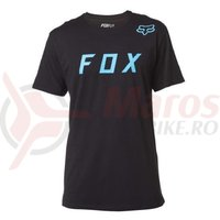Tricou Fox Moth SS Tee black