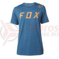 Tricou Fox Moth SS Tee heather blue