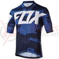 Tricou Fox MTB-Jersey Ascent Creo jersey blu cam