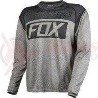Tricou Fox Mtb-Jersey Indicator Ls Jersey Heather Graphite