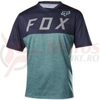 Tricou Fox MTB-Jersey Indicator SS Jersey Heather blue