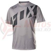 Tricou Fox MTB-Jersey Ranger SS graphite/black