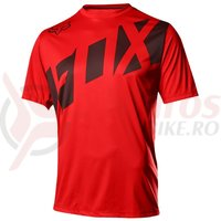 Tricou Fox MTB-Jersey Ranger SS red/black