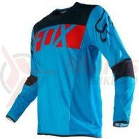 Tricou Fox MX-Jersey Flexair Libra orange/blue