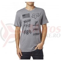 Tricou Fox No Loss SS Tee Heather graphite