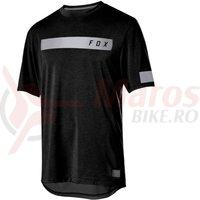 Tricou Fox Ranger Dri-Release SS Bar jrsy black