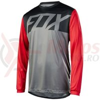 Tricou Fox Ranger LS jersey graph/red