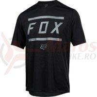 Tricou Fox Ranger SS Bars jersey blk