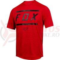 Tricou Fox Ranger SS Bars jersey brt red
