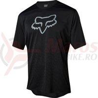 Tricou Fox Ranger SS cntr jersey black