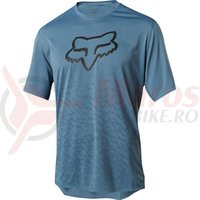 Tricou Fox Ranger SS cntr jersey slt blu
