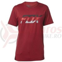 Tricou Fox Seca Splice SS Tee heather red