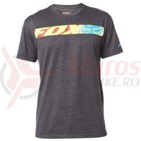 Tricou Fox Transport Race SS Tee Heather black