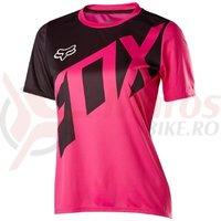 Tricou Fox Womens Ripley SS jersey fucsia