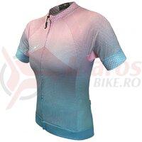 Tricou FUNKIER Farnia Pro Women S/S - Pink/Mint