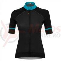 Tricou FUNKIER Volterra-3 Elite Women S/S - Black/Red