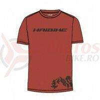Tricou Haibike - unisex rust-coloured made by Maloja