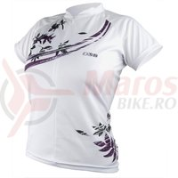 Tricou iXS Shuniah Lady MTB-Comp white-purple